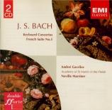 BACH - Marriner - Concerto pour clavecin et cordes n°1 en ré mineur BWV