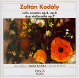 KODALY - Kanka - Sonate pour violoncelle seul op.8