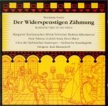 GOETZ - Elmendorff - Der Widerspenstigen Zähmung