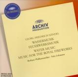 HAENDEL - Lehmann - Water Music HWV.348-350