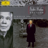 SCHOECK - Fischer-Dieskau - Lieder