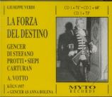 VERDI - Votto - La forza del destino, opéra en quatre actes (version 186
