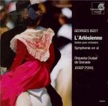 BIZET - Pons - Symphonie pour orchestre en ut majeur (1855) WD.33