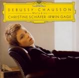 DEBUSSY - Schäfer - Fêtes galantes I, trois mélodies pour voix et piano