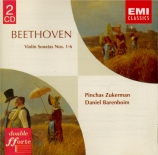 BEETHOVEN - Zukerman - Sonate pour violon et piano n°1 op.12 n°1