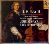 BACH - Savall - Sonate pour viole de gambe et clavier n°3 en sol mineur