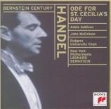 HAENDEL - Bernstein - Ode for St. Cecilia's Day HWV.76