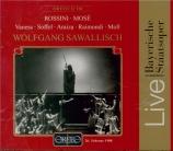 ROSSINI - Sawallisch - Mosè in Egitto (live München 26 - 2 - 1988) live München 26 - 2 - 1988