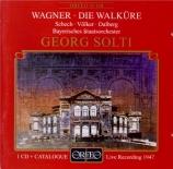 WAGNER - Solti - Die Walküre WWV.86b : acte 1