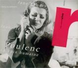 POULENC - Rhodes - La voix humaine, tragédie lyrique pour voix et orches