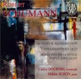 SCHUMANN - Dourthe - Adagio et allegro en la bémol majeur op.70 : versio