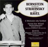 STRAVINSKY - Bernstein - L'histoire du soldat, suite de concert pour cla