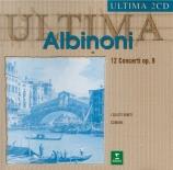 ALBINONI - Scimone - Douze concerti a cinque op.9