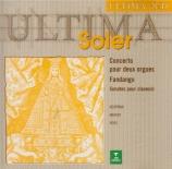 SOLER - Mathot - Six concertos pour deux claviers