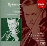 BACH - Menuhin - Sonate pour violon et clavier n°1 en si mineur BWV.1014