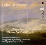 DRAESEKE - Tanski - Concerto pour piano op.36