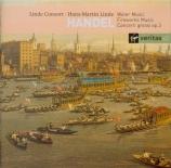 HAENDEL - Linde - Water Music HWV.348-350