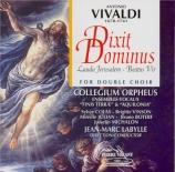 VIVALDI - Labylle - Dixit Dominus (Psaume 109) en ré majeur, pour solist