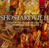 CHOSTAKOVITCH - Borodin Quartet - Quatuor à cordes n°2 op.68