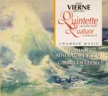 VIERNE - Quatuor Athenae - Quintette avec piano en ut mineur op.42