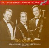 Oeuvres pour flûte, hautbois et basson