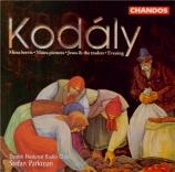 KODALY - Parkman - Missa brevis, pour solistes, chœur et orgue