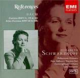 BACH - Schwarzkopf - Jauchzet Gott in allen Landen, cantate pour soprano