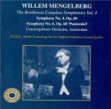 BEETHOVEN - Mengelberg - Symphonie n°4 op.60