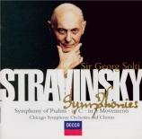 STRAVINSKY - Solti - Symphonie de psaumes, pour chœur et orchestre