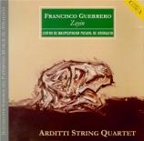 GUERRERO MARIN - Arditti String - Zayin pour quatuor à cordes