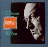 BRUCKNER - Harnoncourt - Symphonie n°7 en mi majeur WAB 107