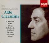 SATIE - Ciccolini - Trois morceaux en forme de poire