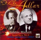 MAHLER - Adler - Symphonie n°3