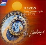 HAYDN - Lindsay String - Quatuor à cordes n°32 en do majeur op.20 n°2 H