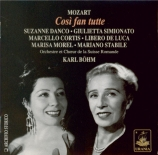 MOZART - Böhm - Cosi fan tutte (Ainsi font-elles toutes), opéra bouffe e Live Genève 14 - 1 - 1949