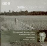 CHOSTAKOVITCH - Britten - Symphonie n°14 op.135