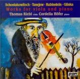 Musique russe pour alto & piano