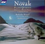 NOVAK - Kozena - Quintette avec piano op.12