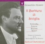 ROSSINI - Samosud - Il barbiere di Siviglia (Le barbier de Séville) Chanté en russe