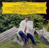 SCHUMANN - Thielemann - Symphonie n°3 pour orchestre en mi bémol majeur