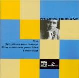 HERSANT - Ensemble Ader - Trio pour piano, violon et violoncelle