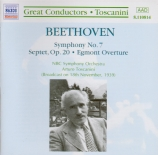 BEETHOVEN - Toscanini - Symphonie n°7 op.92 arrangement du septuor par Toscanini