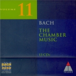 Bach 2000 Vol.11 (The chamber music)