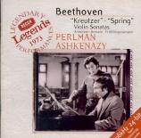 BEETHOVEN - Perlman - Sonate pour violon et piano n°9 op.47 'Kreutzer'