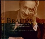 BRAHMS - Rubinstein - Concerto pour piano et orchestre n°1 en ré mineur Vol.34