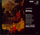 ROSSI - Christie - Orfeo