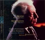MENDELSSOHN-BARTHOLDY - Rubinstein - Trio avec piano n°1 en ré mineur op Vol.24