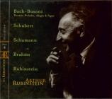 BACH - Rubinstein - Toccata, adagio et fugue pour orgue en do majeur BWV Vol.8