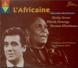 MEYERBEER - Perisson - L'africaine (Live San Francisco 3 - 11 - 1973) Live San Francisco 3 - 11 - 1973