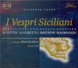 VERDI - Muti - I vespri siciliani, opéra en cinq actes (version 1855 en live Firenze, 13 - 5 - 1978